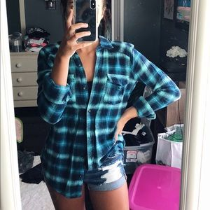 Hollister oversized flannel